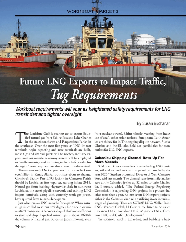 Marine News Magazine, page 76,  Nov 2014