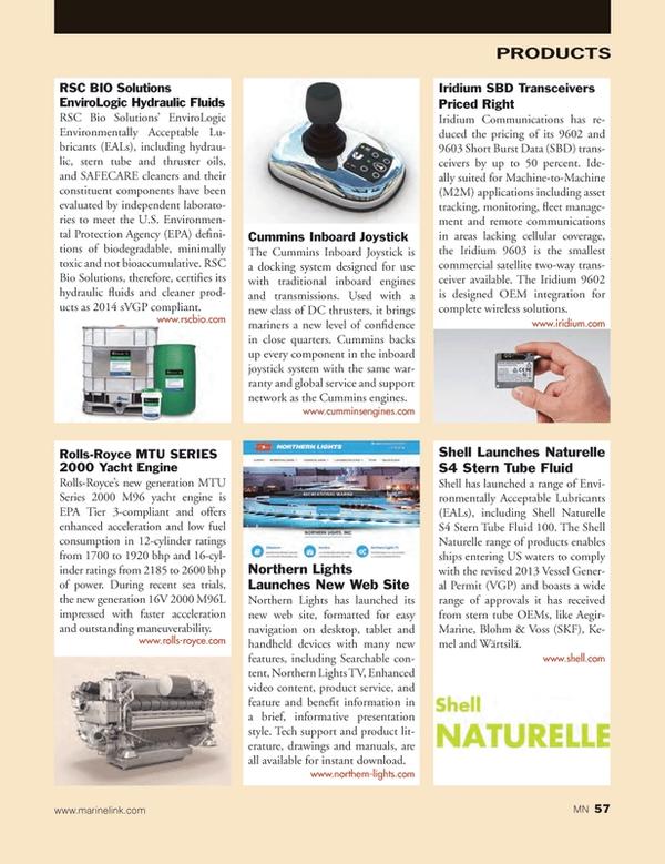 Marine News Magazine, page 57,  Dec 2014