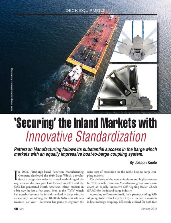 Marine News Magazine, page 48,  Jan 2015