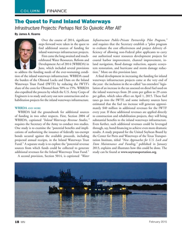 Marine News Magazine, page 18,  Feb 2015