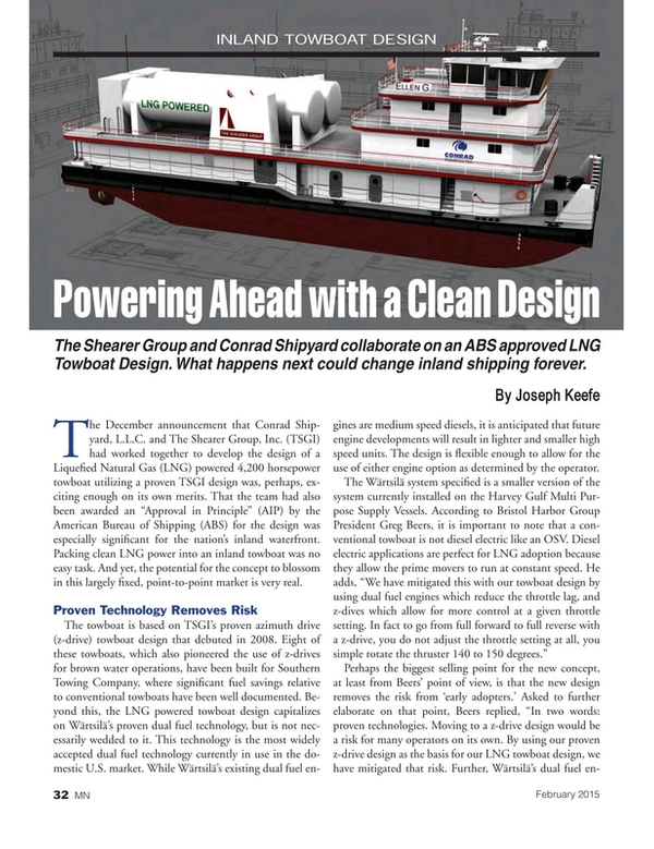 Marine News Magazine, page 32,  Feb 2015