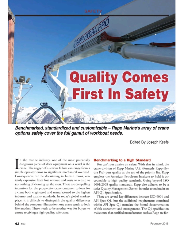 Marine News Magazine, page 42,  Feb 2015