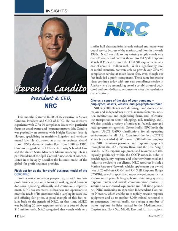 Marine News Magazine, page 12,  Mar 2015
