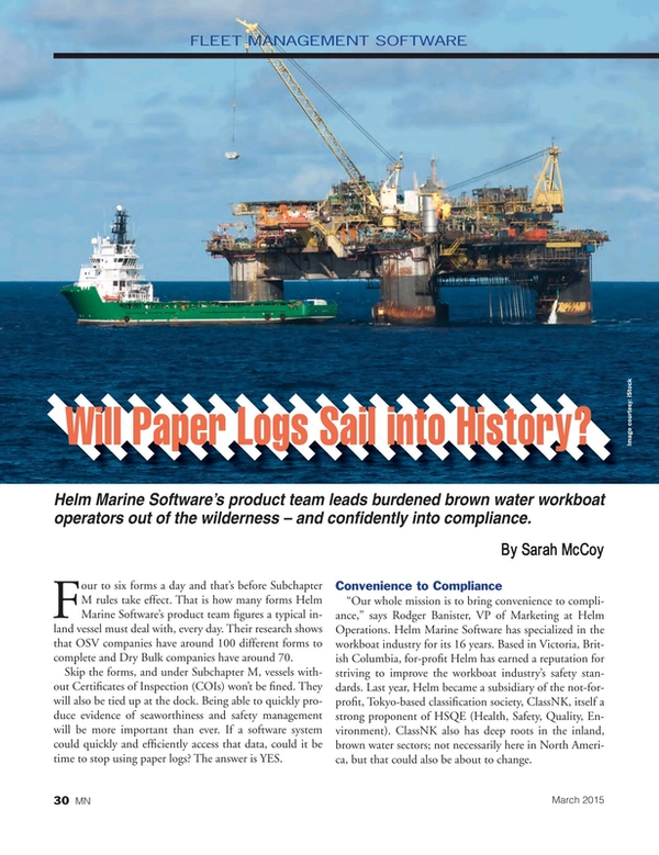 Marine News Magazine, page 30,  Mar 2015