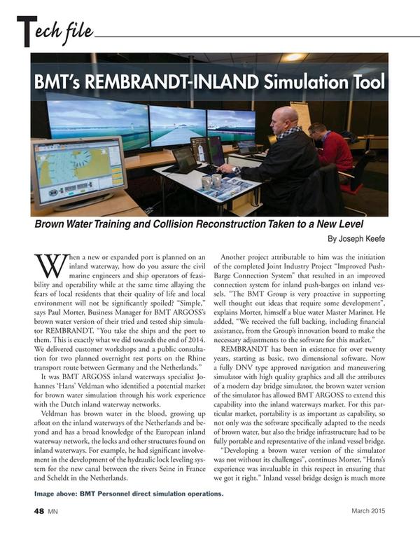 Marine News Magazine, page 48,  Mar 2015