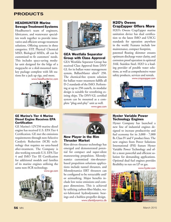 Marine News Magazine, page 56,  Mar 2015