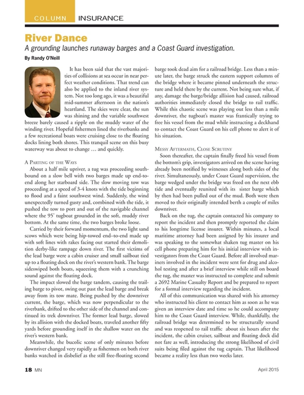 Marine News Magazine, page 18,  Apr 2015