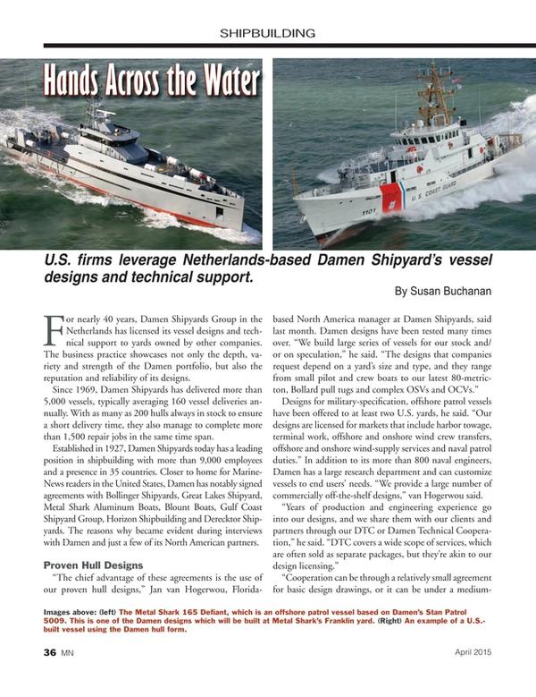 Marine News Magazine, page 36,  Apr 2015