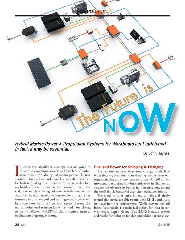 Marine News Magazine, page 28,  May 2015