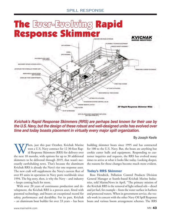 Marine News Magazine, page 43,  May 2015