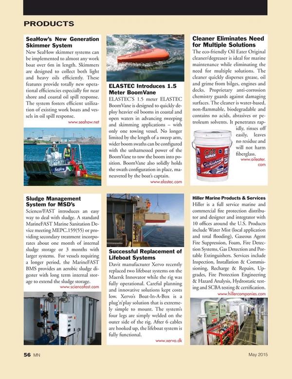 Marine News Magazine, page 56,  May 2015