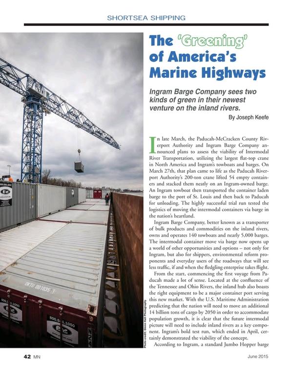 Marine News Magazine, page 42,  Jun 2015