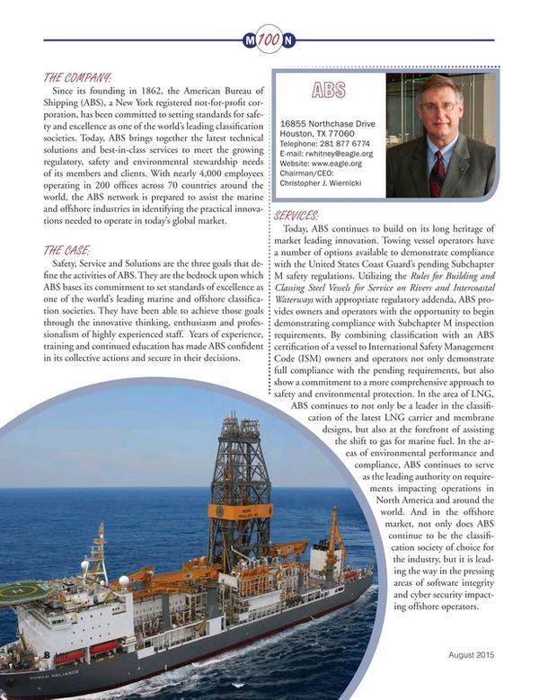 Marine News Magazine, page 8,  Aug 2015