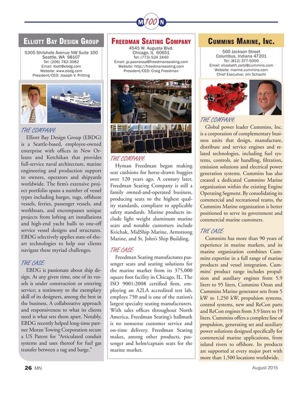 Marine News Magazine, page 26,  Aug 2015