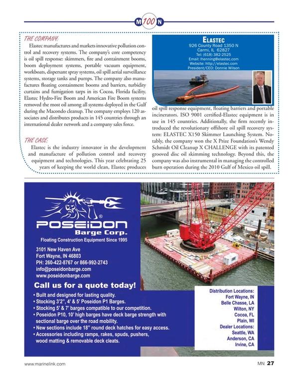 Marine News Magazine, page 27,  Aug 2015