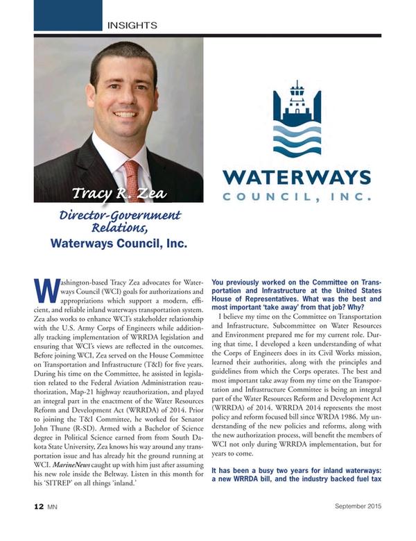 Marine News Magazine, page 12,  Sep 2015