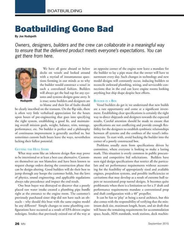 Marine News Magazine, page 26,  Sep 2015