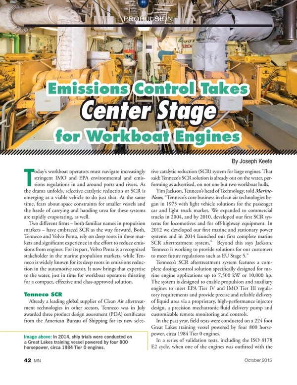 Marine News Magazine, page 42,  Oct 2015
