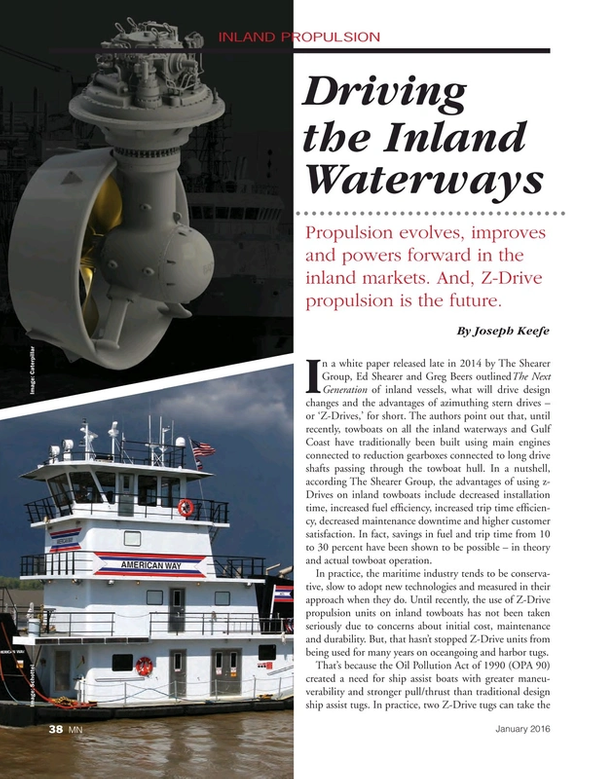 Marine News Magazine, page 38,  Jan 2016