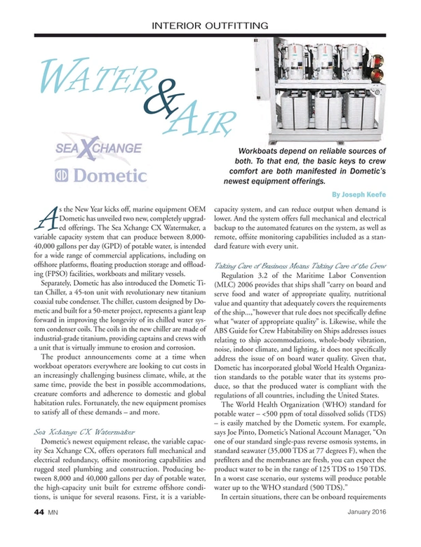 Marine News Magazine, page 44,  Jan 2016