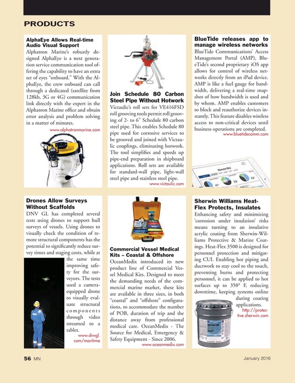 Marine News Magazine, page 56,  Jan 2016