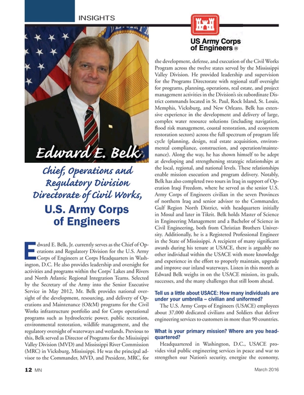 Marine News Magazine, page 12,  Mar 2016