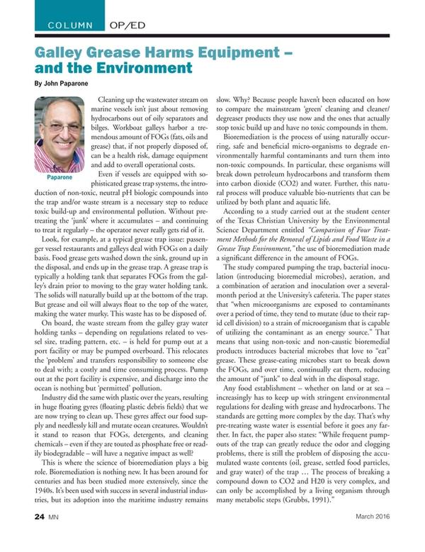 Marine News Magazine, page 24,  Mar 2016