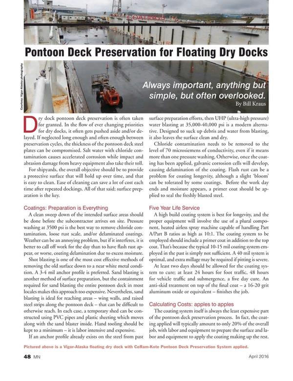 Marine News Magazine, page 48,  Apr 2016