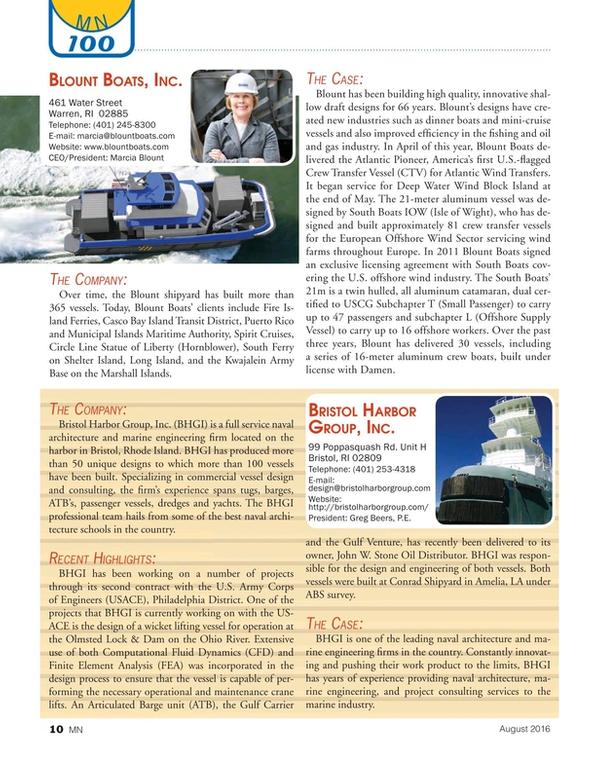 Marine News Magazine, page 10,  Aug 2016