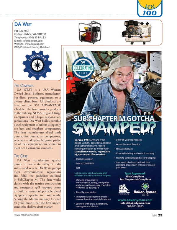 Marine News Magazine, page 29,  Aug 2016
