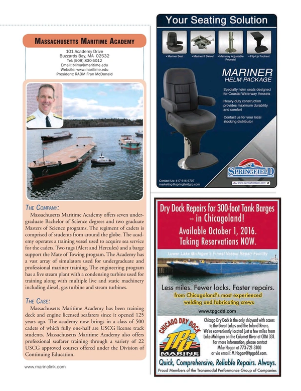 Marine News Magazine, page 43,  Aug 2016