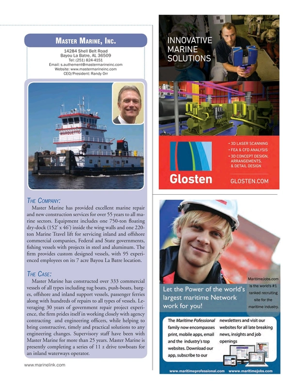 Marine News Magazine, page 63,  Aug 2016
