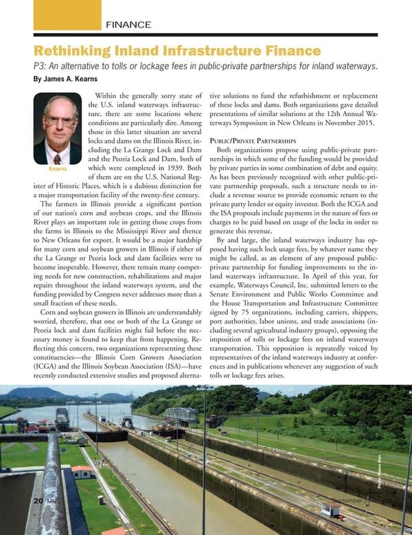 Marine News Magazine, page 20,  Sep 2016