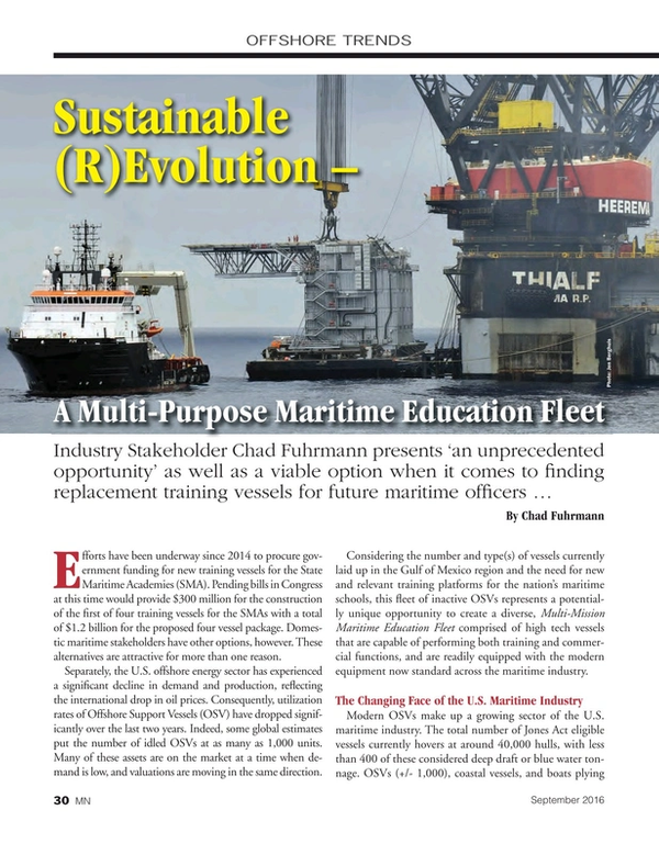 Marine News Magazine, page 30,  Sep 2016