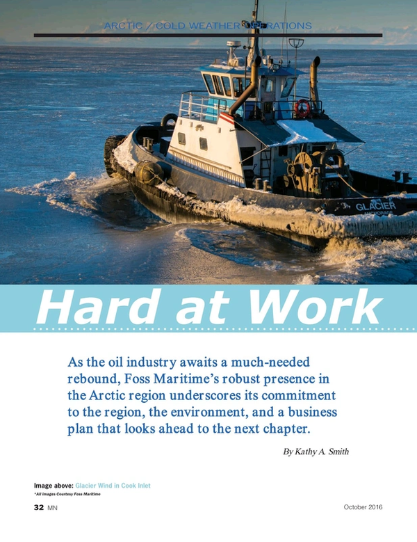 Marine News Magazine, page 32,  Oct 2016