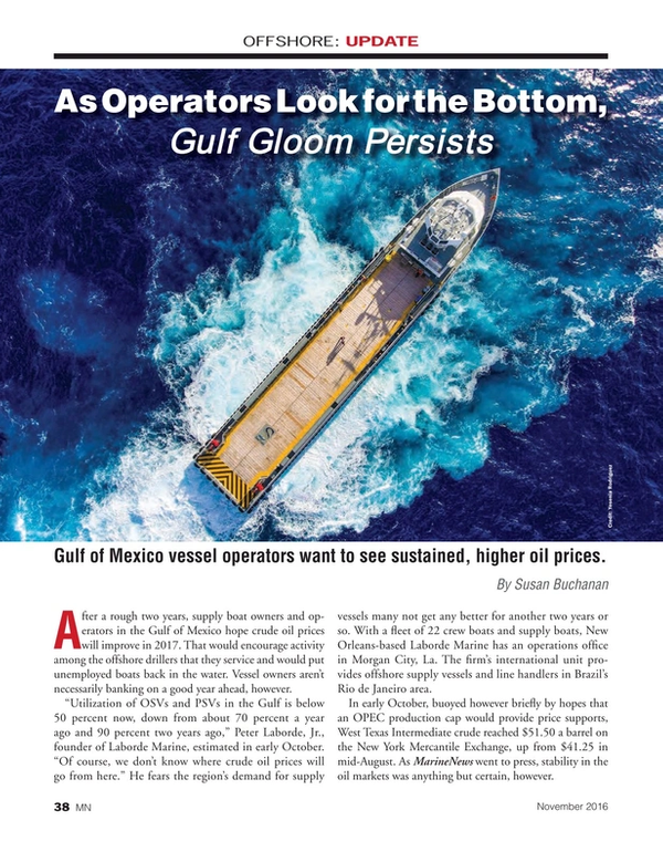 Marine News Magazine, page 38,  Nov 2016