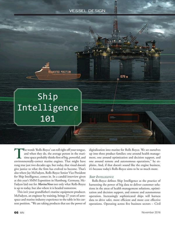 Marine News Magazine, page 66,  Nov 2016