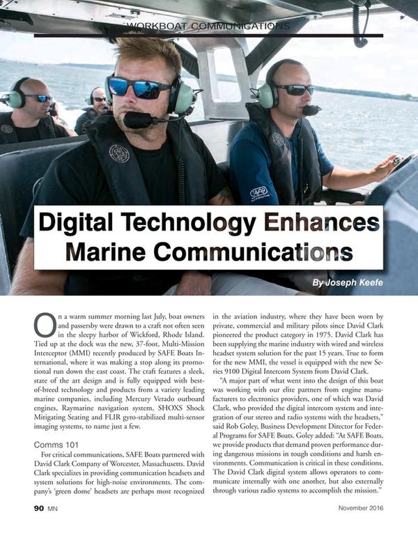 Marine News Magazine, page 90,  Nov 2016