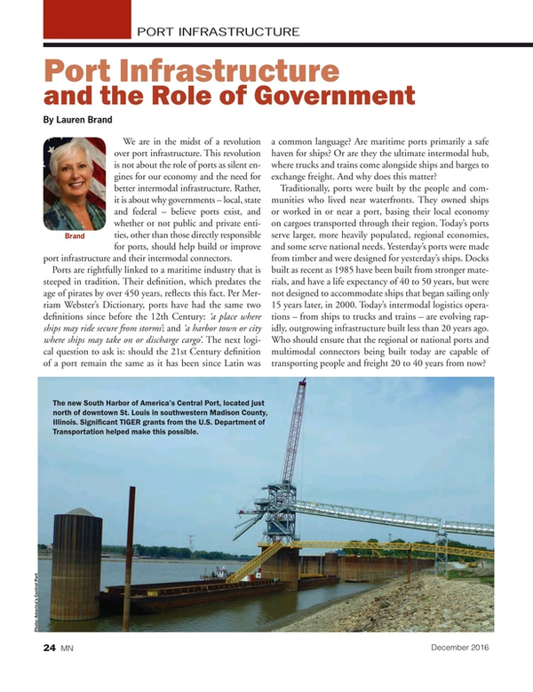 Marine News Magazine, page 24,  Dec 2016