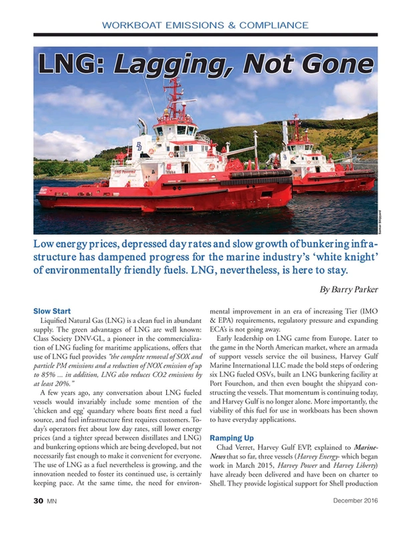 Marine News Magazine, page 30,  Dec 2016