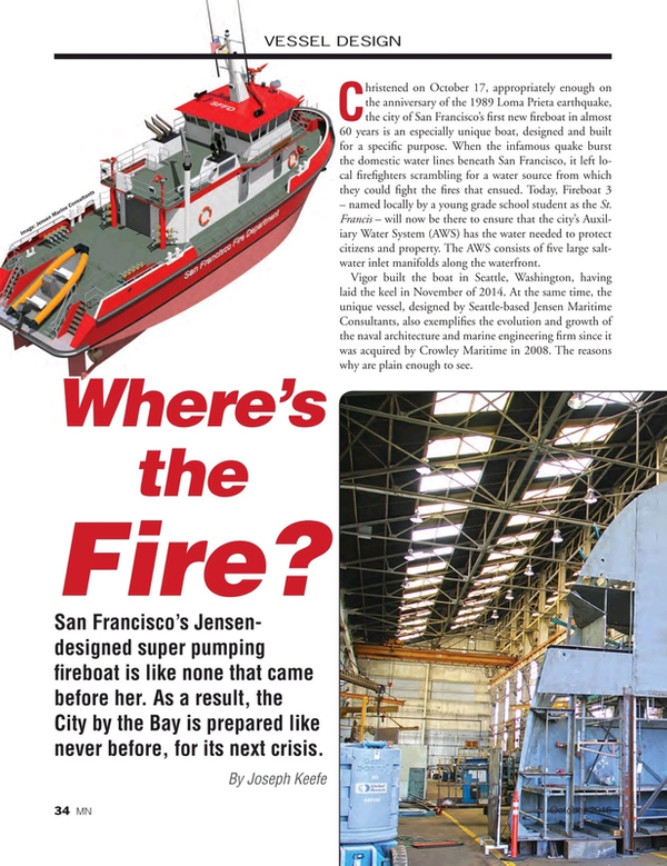 Marine News Magazine, page 34,  Dec 2016