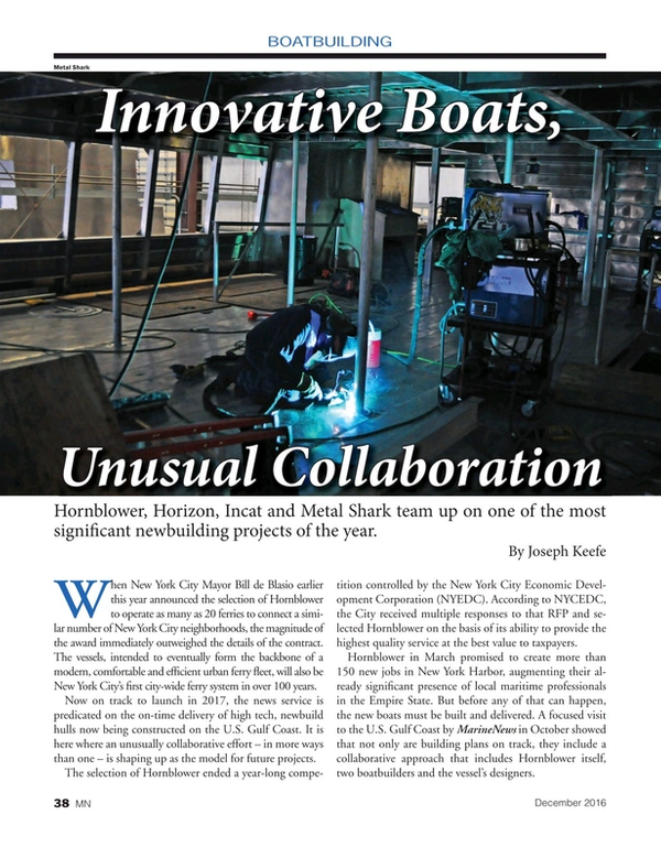 Marine News Magazine, page 38,  Dec 2016