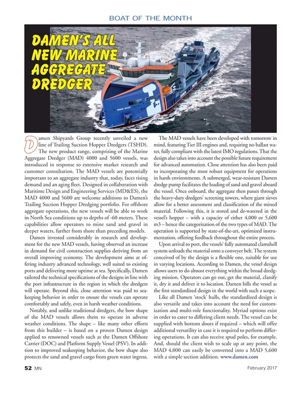 Marine News Magazine, page 52,  Feb 2017