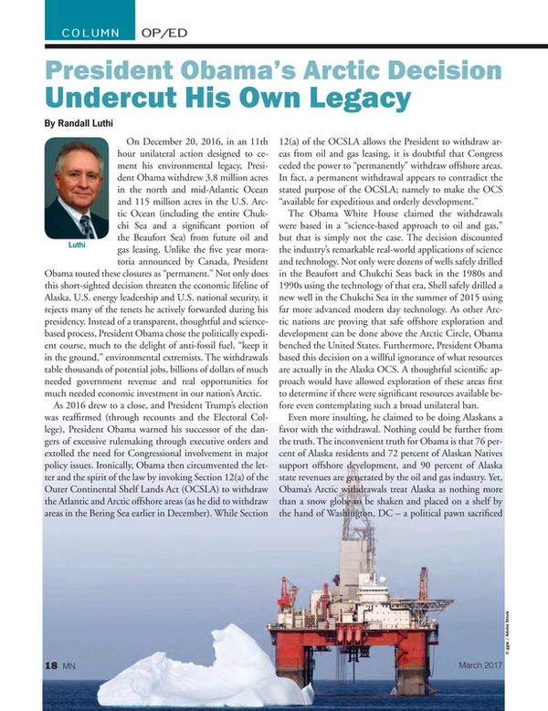 Marine News Magazine, page 18,  Mar 2017