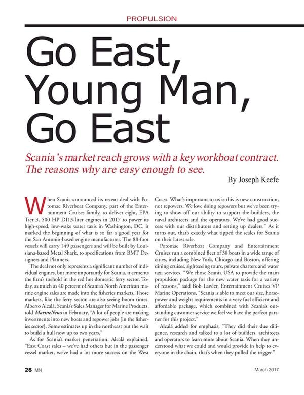 Marine News Magazine, page 28,  Mar 2017