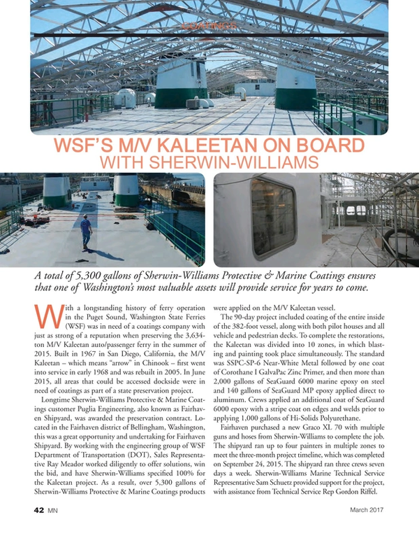 Marine News Magazine, page 42,  Mar 2017
