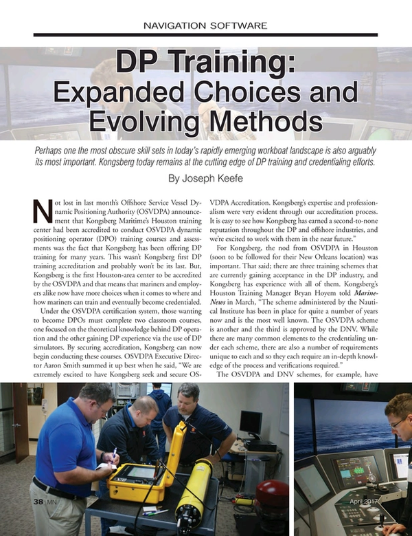 Marine News Magazine, page 38,  Apr 2017