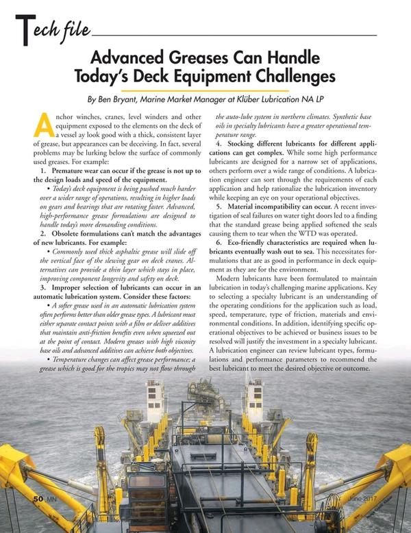 Marine News Magazine, page 50,  Jun 2017