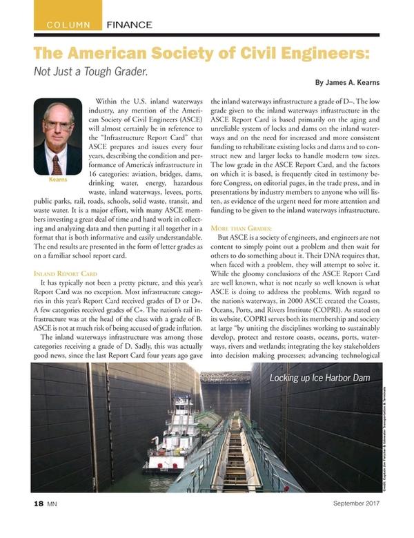 Marine News Magazine, page 18,  Sep 2017