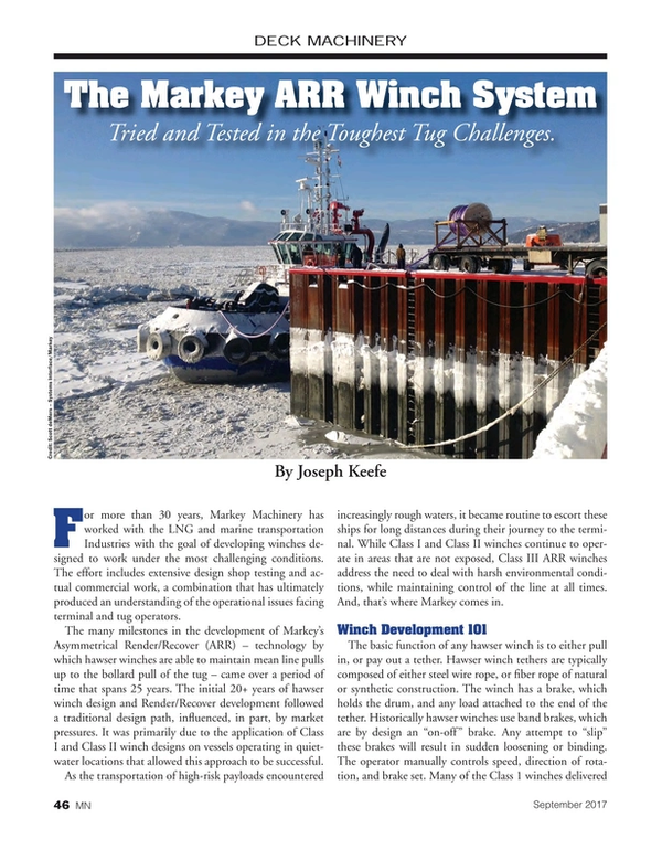 Marine News Magazine, page 46,  Sep 2017
